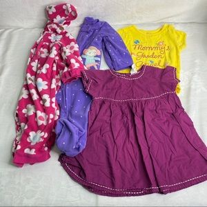 Lot of 9 month baby girl clothing
